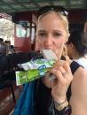 green peas ice cream